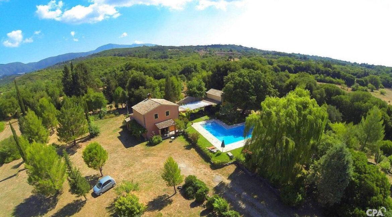 Property with very Big Land Plot Corfu Greece. Corfu Homes 2