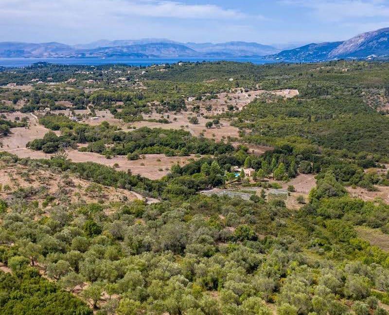 Property with very Big Land Plot Corfu Greece. Corfu Homes 9