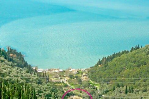 Sea View Property Corfu Greece. Corfu Homes for Sale 1