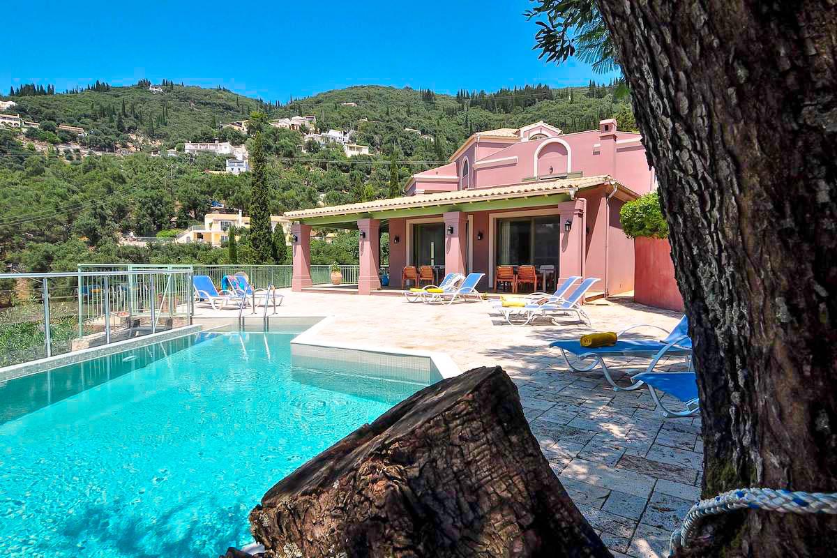 Sea View Property Corfu Greece, Near Agni, South East Corfu