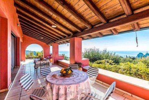 Sea View Villa Corfu for sale, Corfu Properties 1