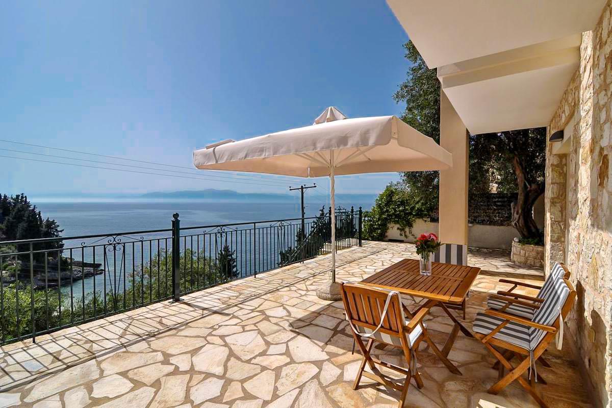 Sea View Villa Paxos Island, just a few steps from the beach