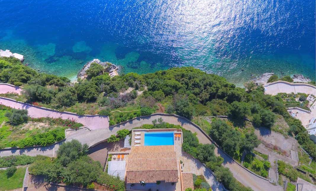 Seafront Estate in Corfu Greece. Luxury Homes in Corfu Greece
