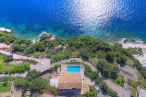 Seafront Estate in Corfu Greece. Luxury Homes in Corfu Greece