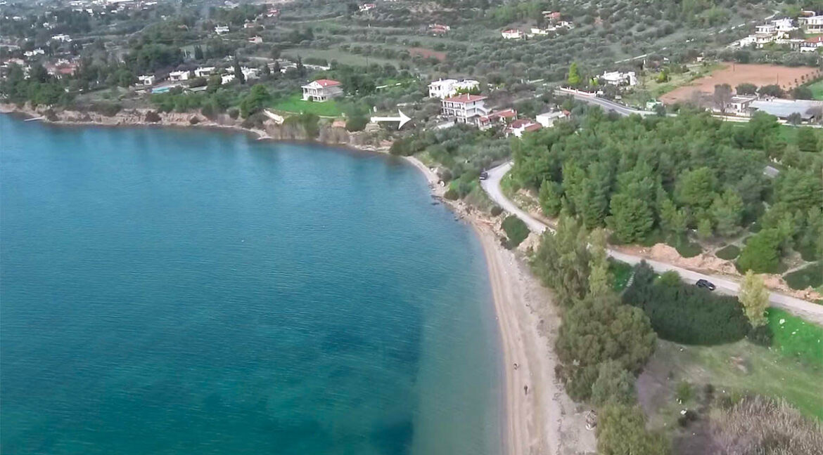 Seafront House in Evia Greece. Seafront Property in Euboea Greece 1