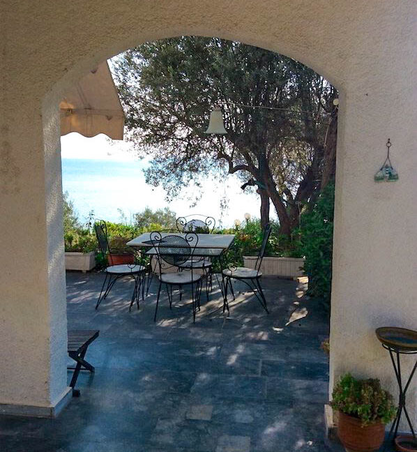Seafront House in Evia Greece. Seafront Property in Euboea Greece 10
