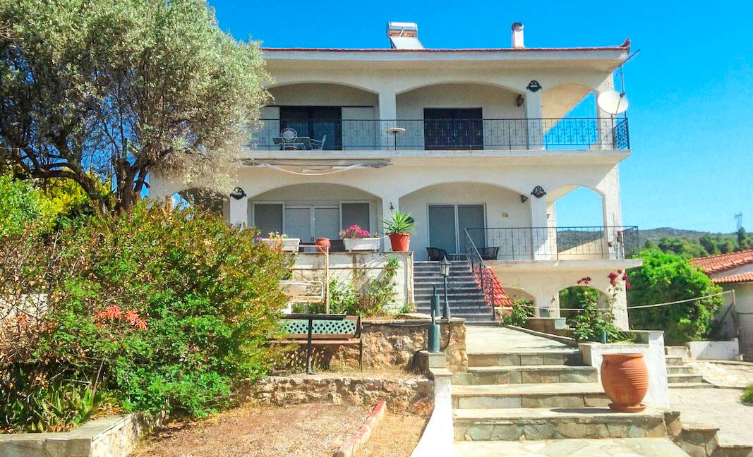 Seafront House in Evia Greece. Seafront Property in Euboea Greece 11