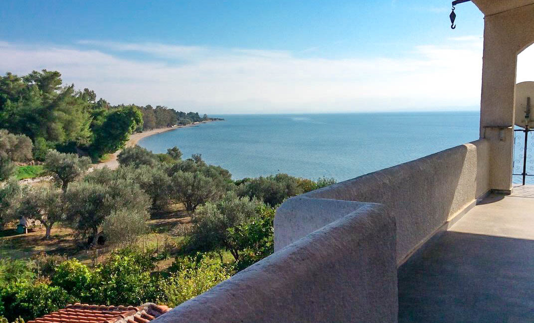Seafront House in Evia Greece. Seafront Property in Euboea Greece 14