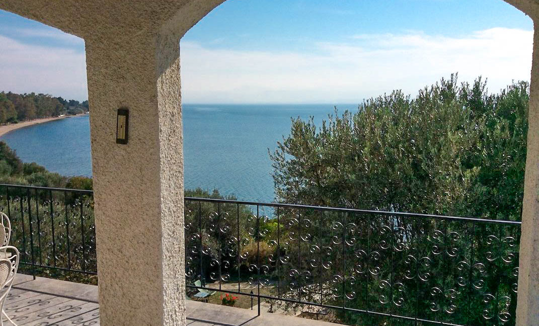 Seafront House in Evia Greece. Seafront Property in Euboea Greece 17