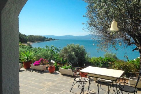 Seafront House in Evia Greece. Seafront Property in Euboea Greece 2