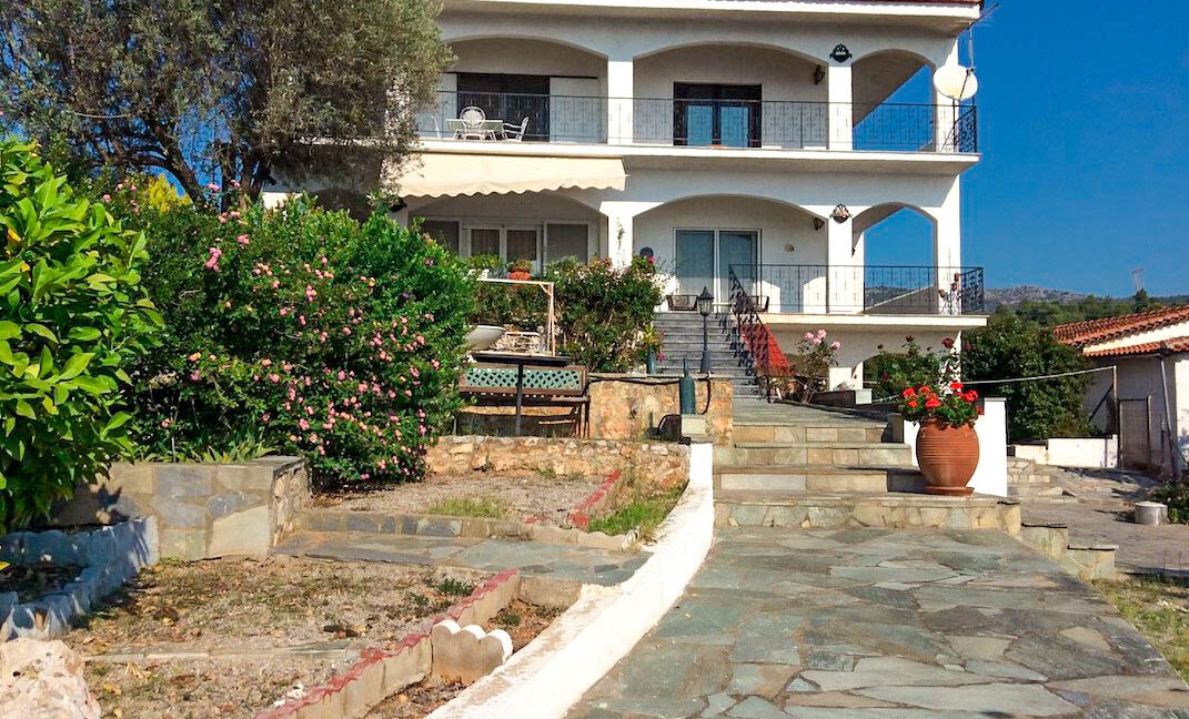 Seafront House in Evia Greece. Seafront Property in Euboea Greece 28