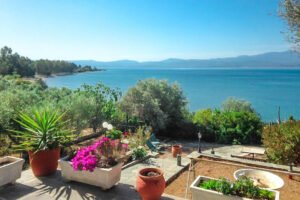 Seafront House in Evia Greece. Seafront Property in Euboea Greece
