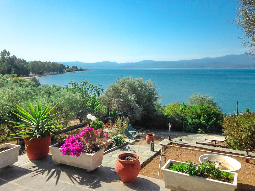 Seafront House in Evia Greece