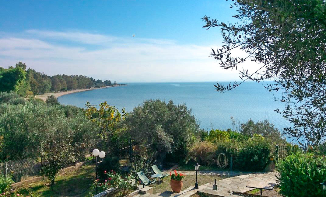 Seafront House in Evia Greece. Seafront Property in Euboea Greece 4