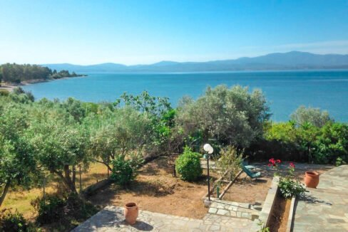 Seafront House in Evia Greece. Seafront Property in Euboea Greece 6