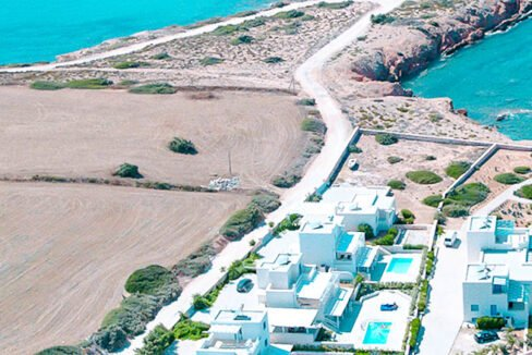 Seafront Villas in Paros Santa Maria Beach