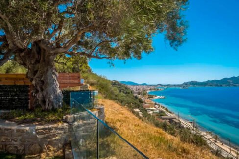 Small Seafront Villa Zakynhtos Greece. Beachfront Property Greek Island 10