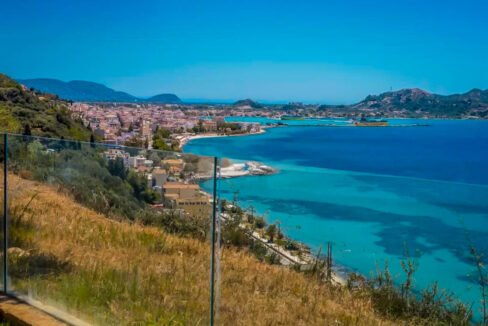 Small Seafront Villa Zakynhtos Greece. Beachfront Property Greek Island 24