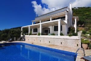 Villa Nissaki Corfu with Panoramic Sea View, Villas in Corfu Greece