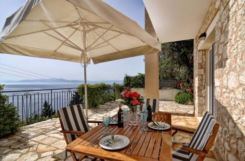 Villa by the sea in Paxos Island near Corfu, Ionian Islands Greece