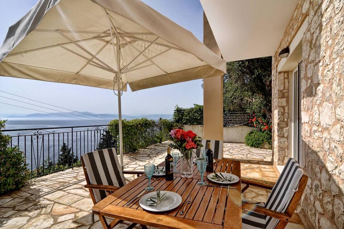 Villa by the sea in Paxos Island near Corfu, Ionian Islands Greece