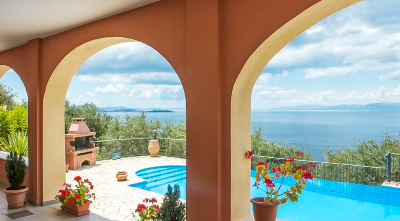 Villa for Sale Nissaki Corfu Greece, Luxury Homes Corfu 1-2