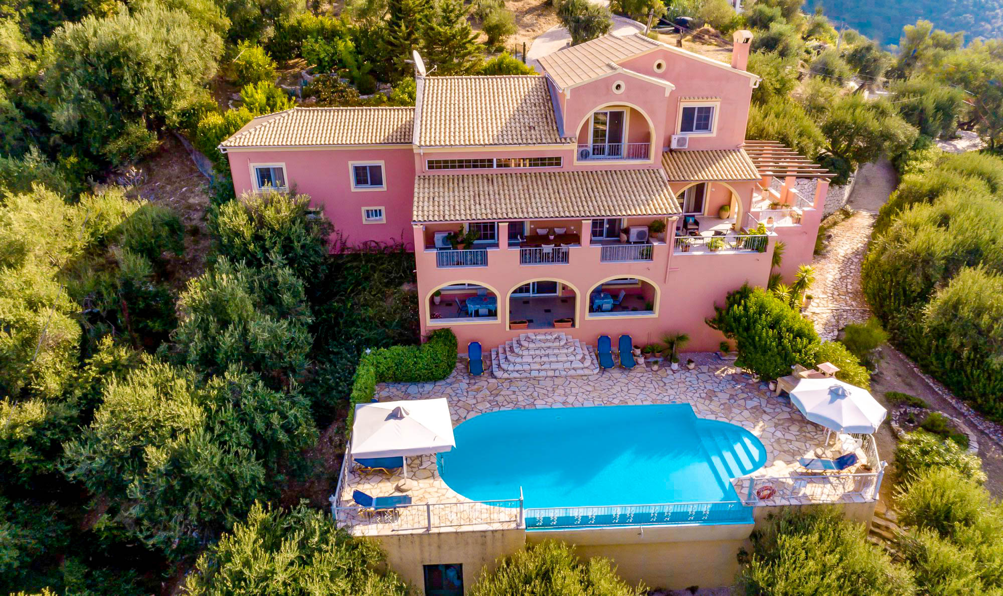 Villa for Sale Nissaki Corfu Greece, Viglatsouri area