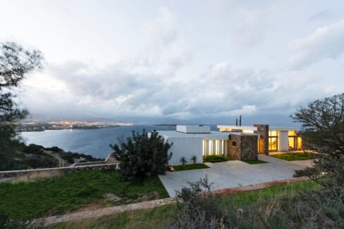 Villa in Elounda Crete, Luxury Villa with Sea View in Crete 2