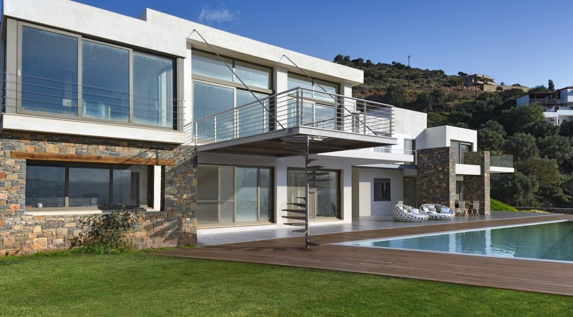 Villa in Elounda Crete, Luxury Villa with Sea View in Crete