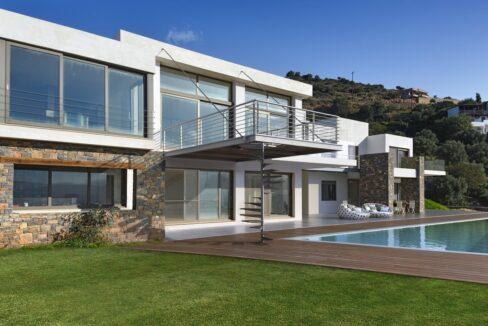 Villa in Elounda Crete, Luxury Villa with Sea View in Crete 8