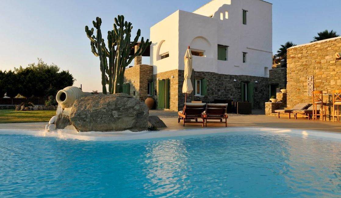 Villa in Paros with panoramic views. Luxury Estates in Paros Greece