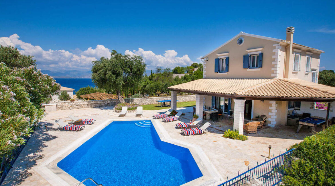 Villa near Kassiopi Corfu for sale, Corfu Luxury Homes