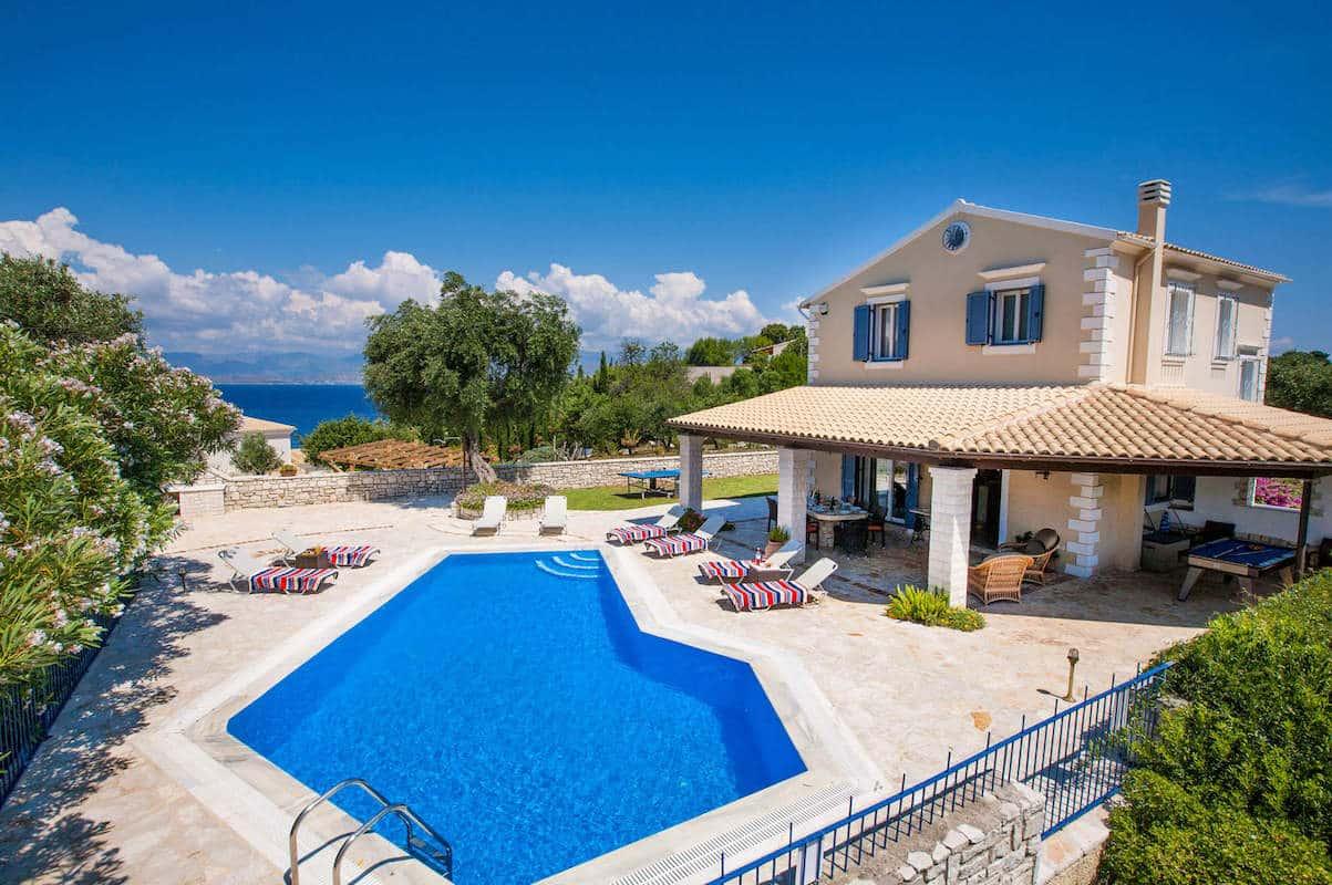 Great Villa near Kassiopi Corfu, North East Corfu