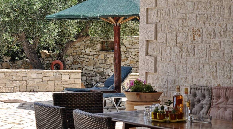Villa with Sea View and Pool in Paxos Island near Corfu Greece. Properties in Paxos Greece 14