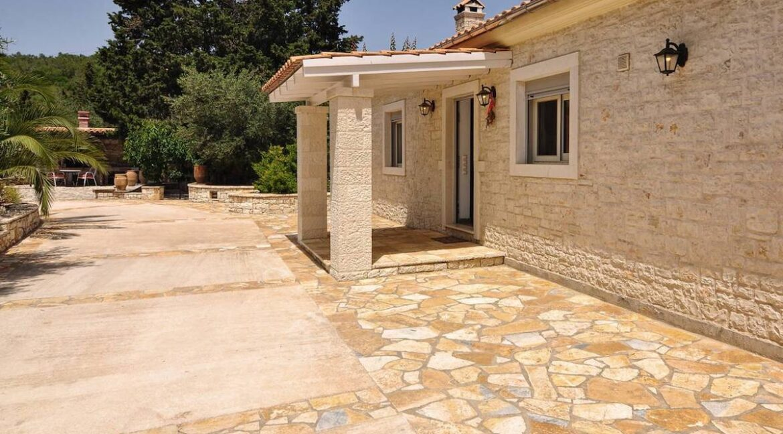 Villa with Sea View and Pool in Paxos Island near Corfu Greece. Properties in Paxos Greece 22
