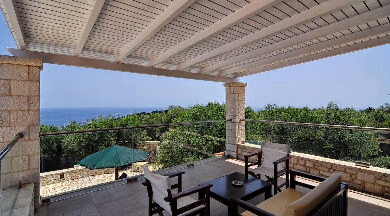 Villa with Sea View and Pool in Paxos Island near Corfu Greece. Properties in Paxos Greece 24