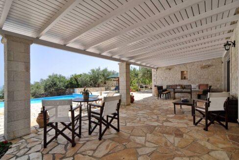 Villa with Sea View and Pool in Paxos Island near Corfu Greece. Properties in Paxos Greece 26