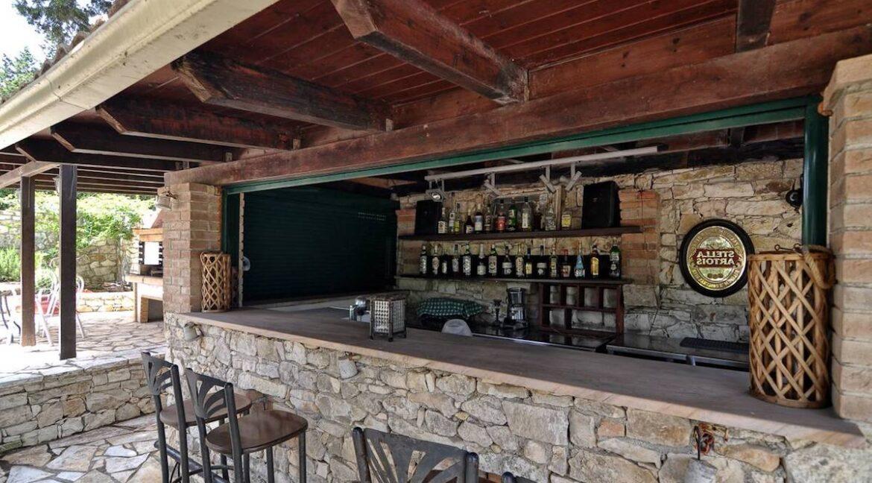Villa with Sea View and Pool in Paxos Island near Corfu Greece. Properties in Paxos Greece 27