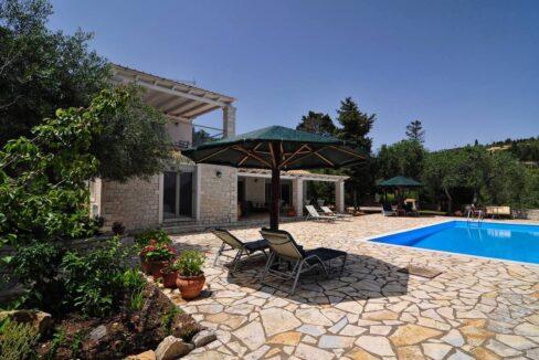 Villa with Sea View and Pool in Paxos Island near Corfu Greece. Properties in Paxos Greece 28