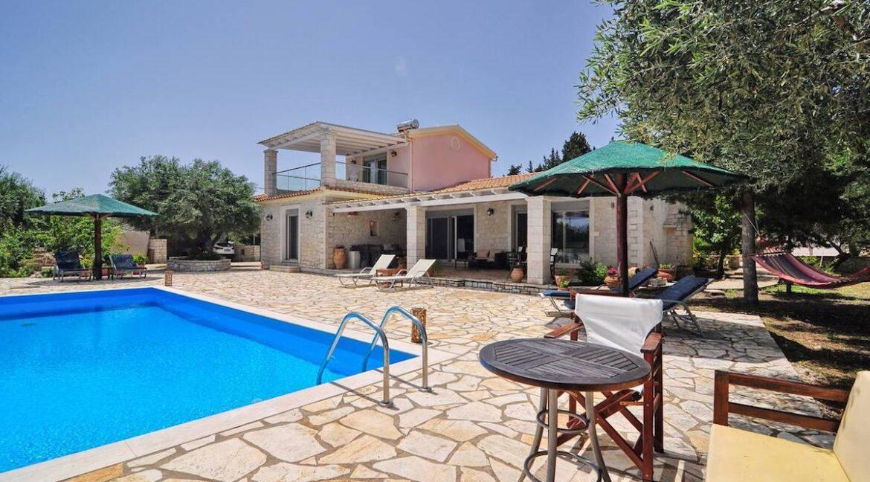 Villa with Sea View and Pool in Paxos Island near Corfu Greece. Properties in Paxos Greece 35