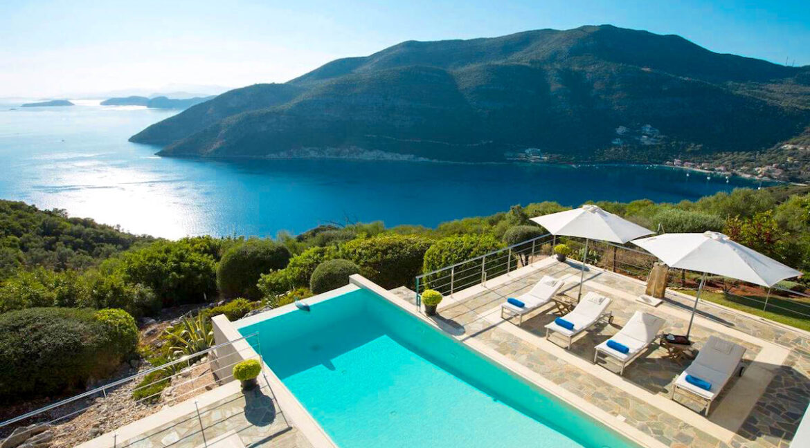 Villa with sea views in Lefkada Greece, Lefkas Properties