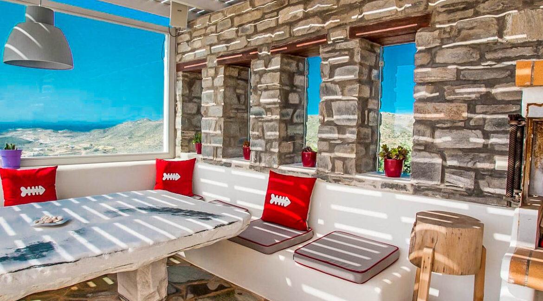 Beautiful Sea View villa in Paros Greece for Sale 30