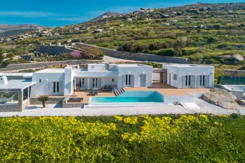 Beautiful Sea View villa in Paros Greece for Sale