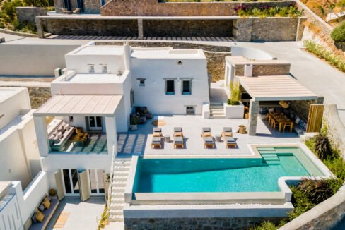 Luxurious new villa in Paros for Sale, Properties Paros Greece
