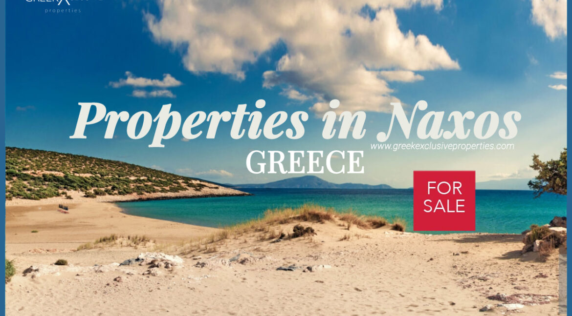 Properties in Naxos Greece, Villas in Naxos for Sale, Real Estate Cyclades Greece