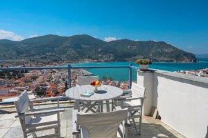 Sea View House in Greek Island Skopelos. Houses in Greek Islands