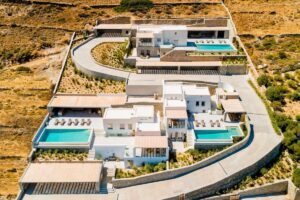 Sea View Villa for Sale Paros Golden Beach, Paros Villas for sale