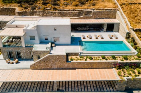 Sea View Villa for Sale Paros Golden Beach, Paros Villas for sale