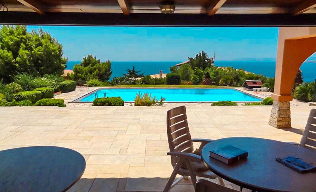 Villa with Pool and Sea View at Sounio Attica, Villas Sounio South Athens for sale 17