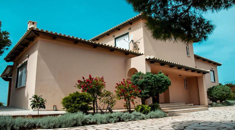 Villa with Pool and Sea View at Sounio Attica, Villas Sounio South Athens for sale 24